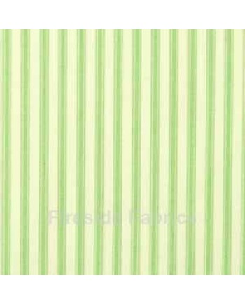 TICKING STRIPE - GREEN